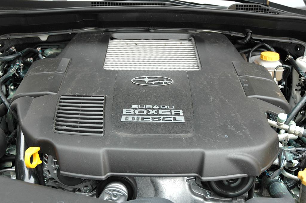 Subaru Impreza XV: Der 2,0-Liter-Vierzylinder-Selbstzünder leistet 150 PS.
