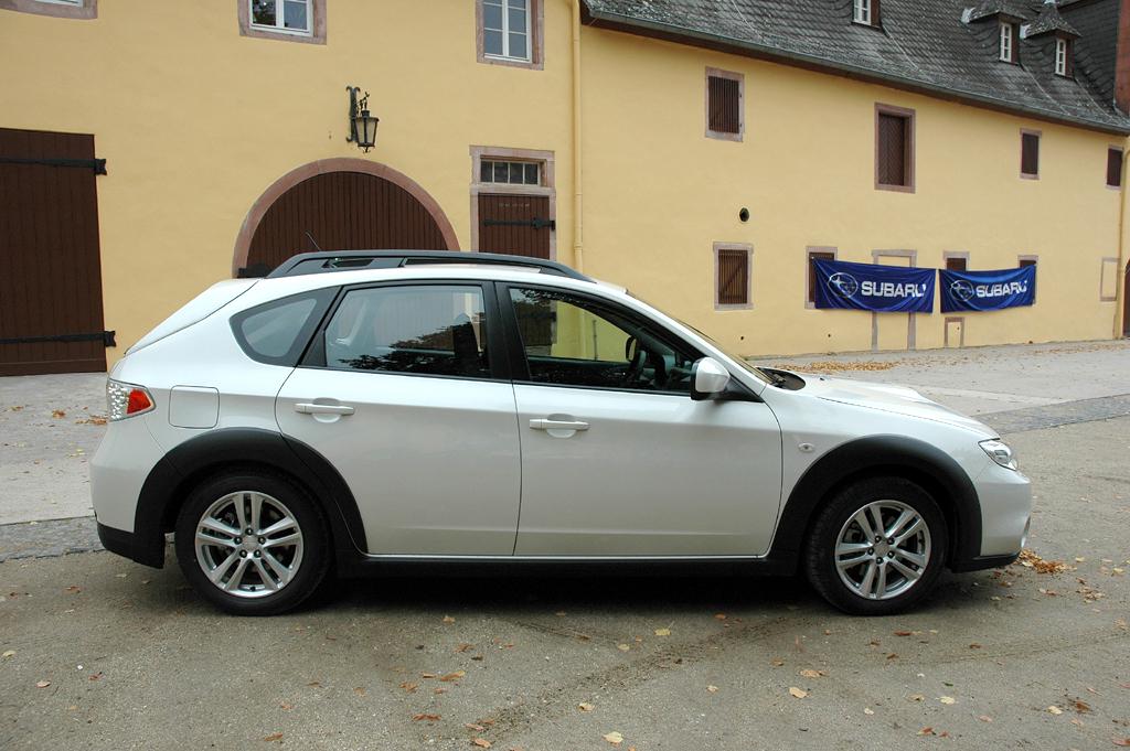 Subaru Impreza XV: Seitenansicht.