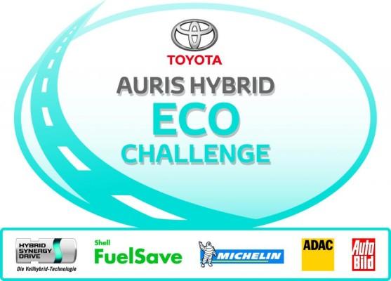 Teilnehmer der ''Toyota Auris Hybrid Eco Challenge'' stehen fest