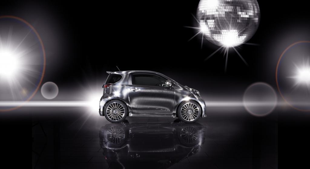 Toyota präsentiert iQ Disco