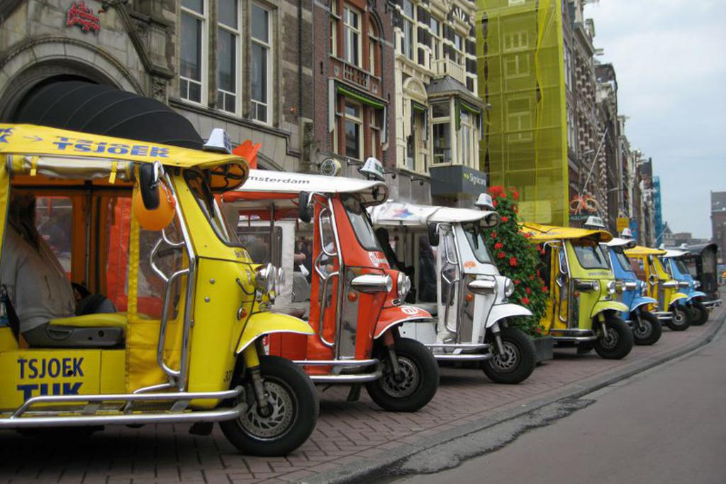 Tuk Tuks aus Amsterdam