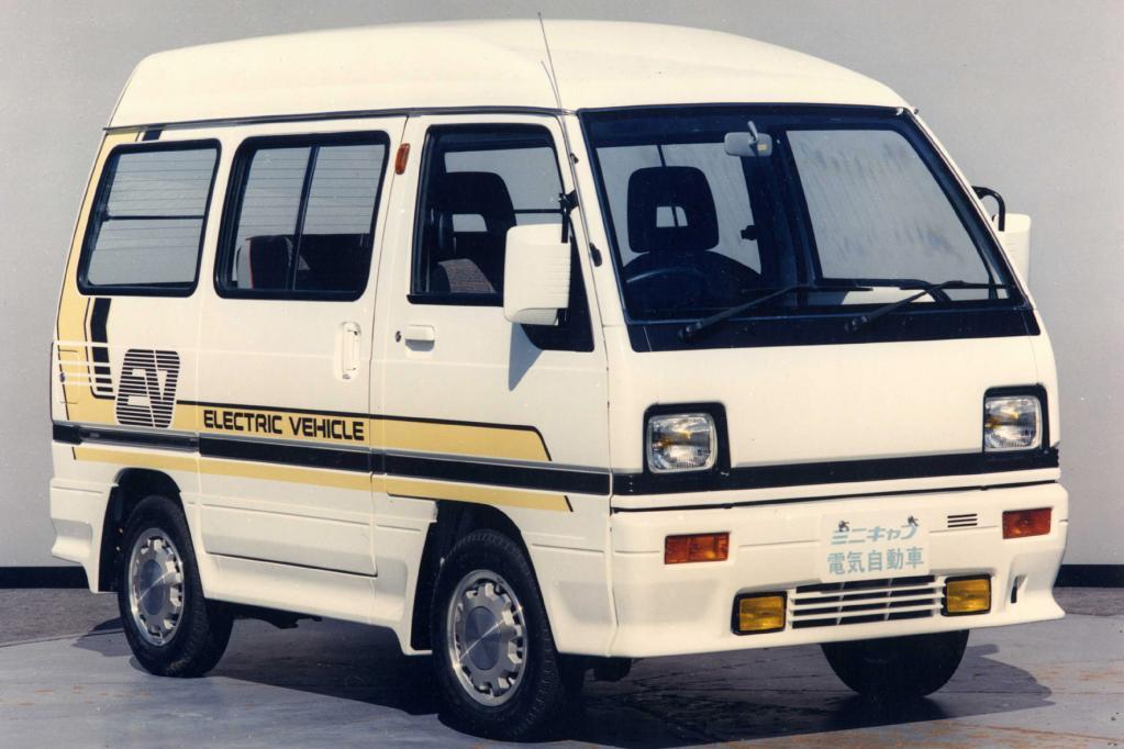 Unbezahlbar: das von Mitsubishi bereits 1989 vorgestellte Elektrokonzept