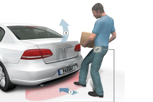 VW: Der Kick mit dem Kofferraum