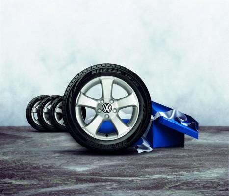 Volkswagen Zubehör startet Winterradaktion ''3+1''