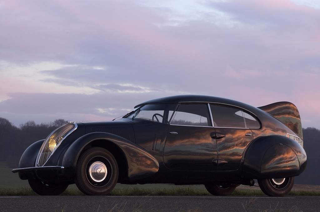 Vor 75 Jahren revolutionierte der 402 das Peugeot-Design