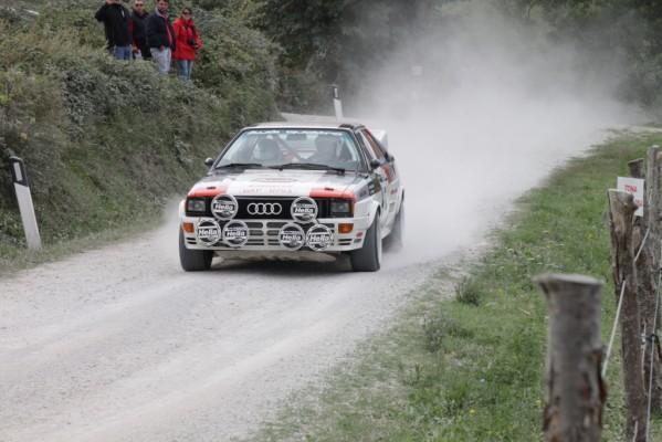 Weltmeisterauto von 1986 zeigt auch nach 24 Jahren noch seine Rennqualitäten – Audi feiert 30 Jahre Quattro