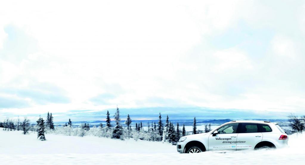 "Winterkatalog ""Volkswagen Driving Experience""."