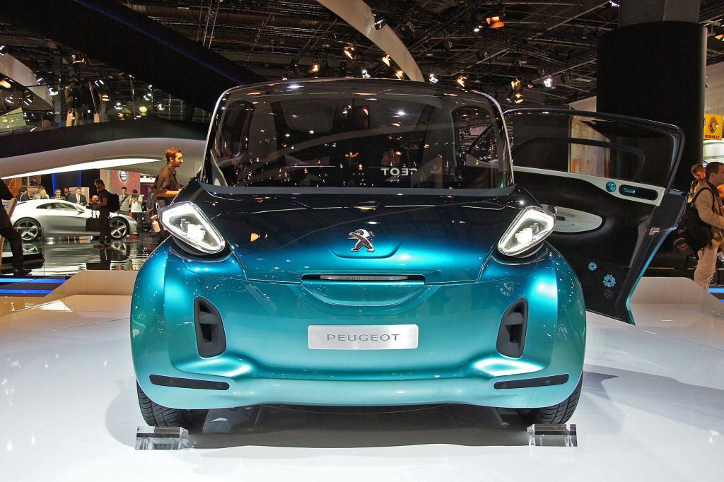 Wo vorne und hinten ist, ist beim Peugeot bb1 kaum zu erkennen