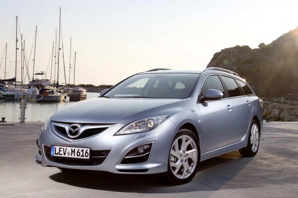 Zu den beliebtesten Import-Kombis gehört der Mazda6