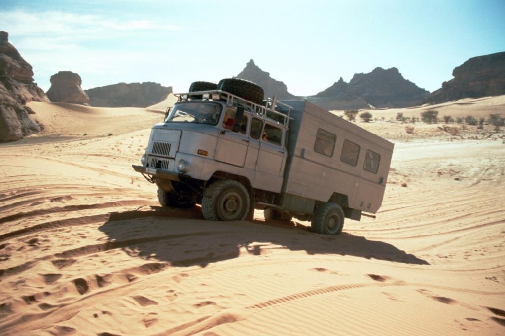 Zum Jahreswechsel offroad durch die Sahara