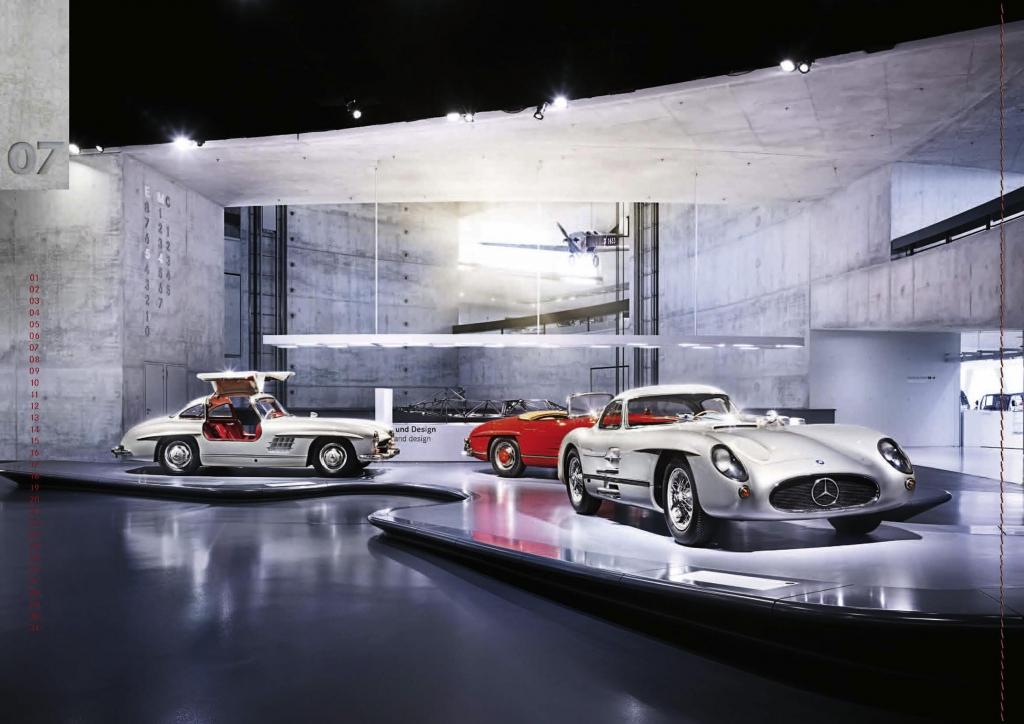 auto.de-Vorstellung: Mercedes-Benz mit Classic-Jubiläums-Kalender 2011 als limitierte Sonderedition