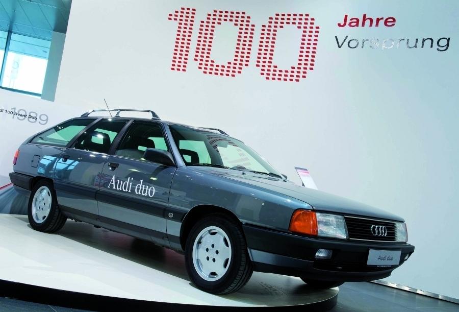 Öko-Autos von heute: Alte Technologie von gestern. Audi 100 Avant.