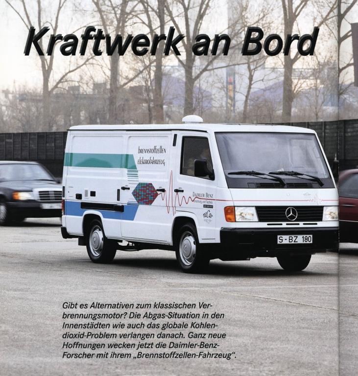 Öko-Autos von heute: Alte Technologie von gestern. Mercedes Necar.