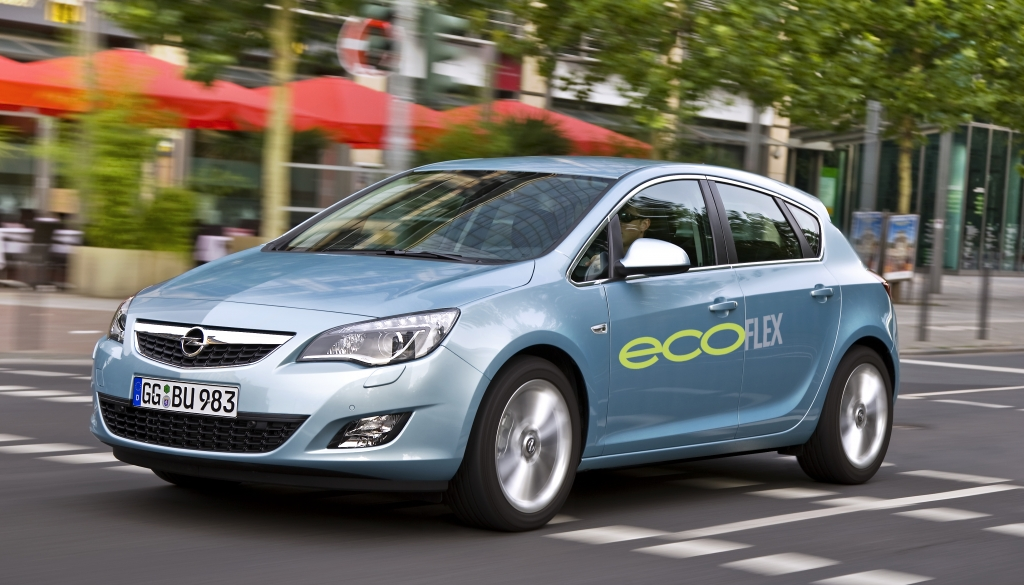 Öko-Autos von heute: Alte Technologie von gestern. Opel Astra Eco Flex Neu.