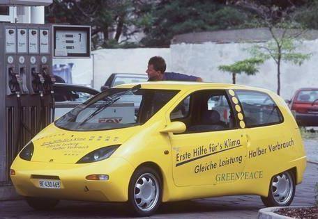Öko-Autos von heute: Alte Technologie von gestern.Renault Twingo Smile.