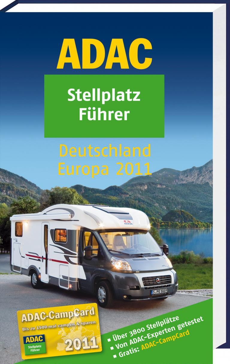 ADAC veröffentlicht Stellplatzführer 2011