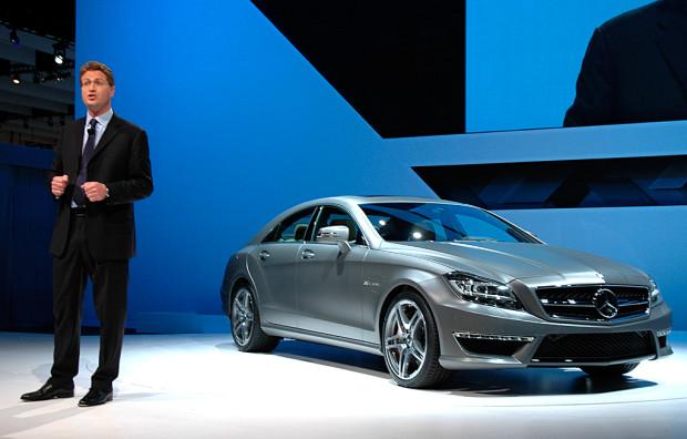 Actionheld (nicht nur) für Hollywood: Mercedes CLS 63 AMG startet im März