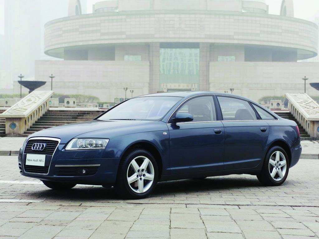 Audi A6 lang  für China