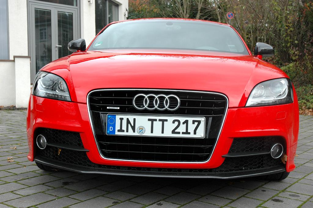 Audi TT: Blick auf die Frontpartie.