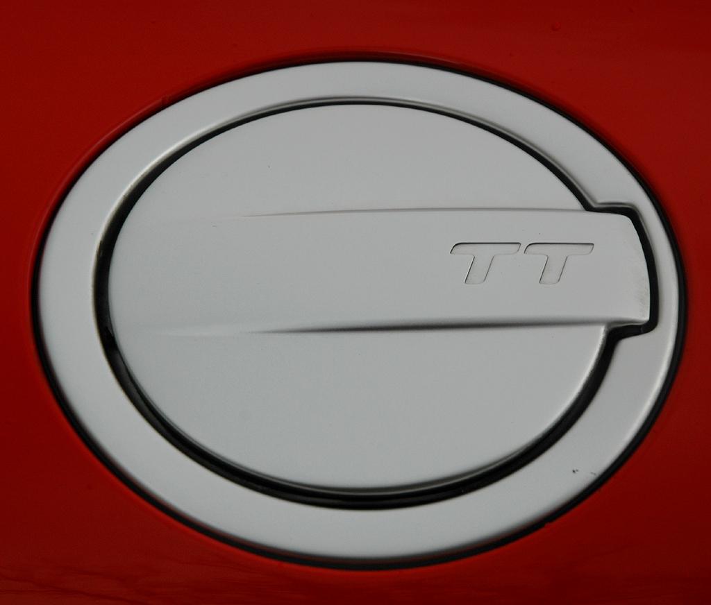 Audi TT: Der Tankdeckel ist charakteristisch für die Baureihe.