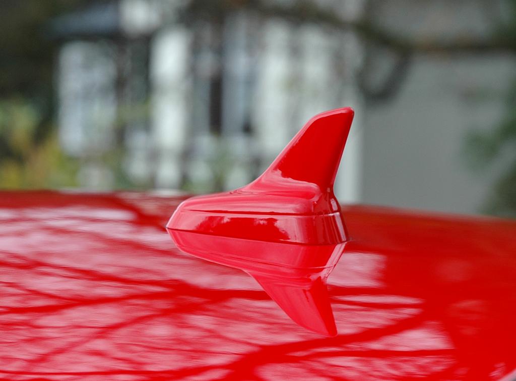 Audi TT: Die Haifischflossen-Antenne sitzt auf dem Dach.