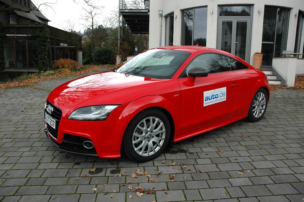Audi TT, hier als 170-PS-Turbodiesel-Coupé.