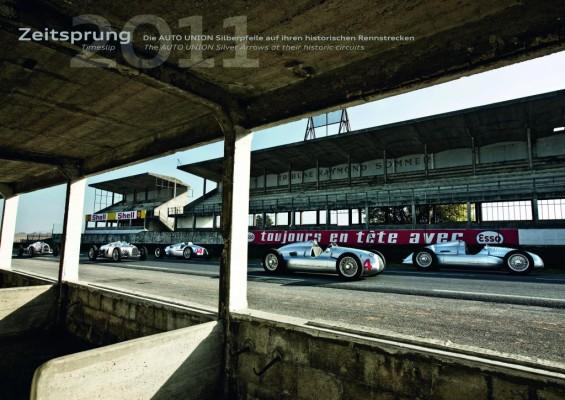 Audi gibt Jahreskalender
