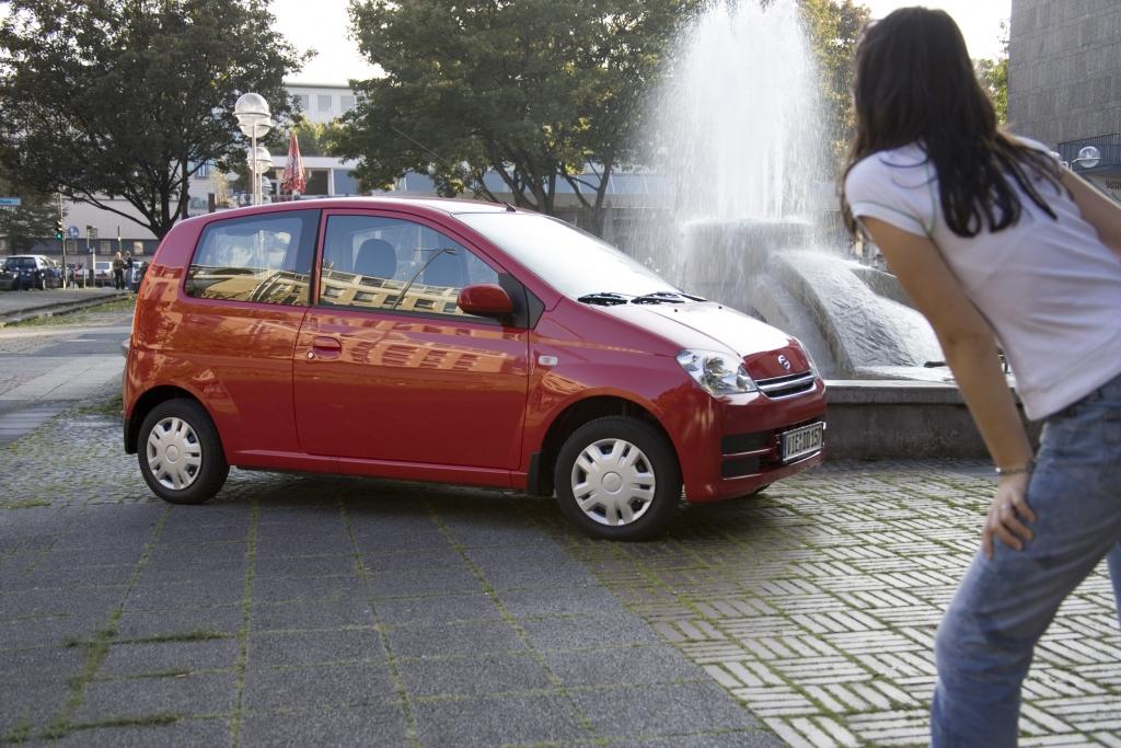 Auf Platz 2 der beliebtesten Frauen-Autos landet Daihatsu