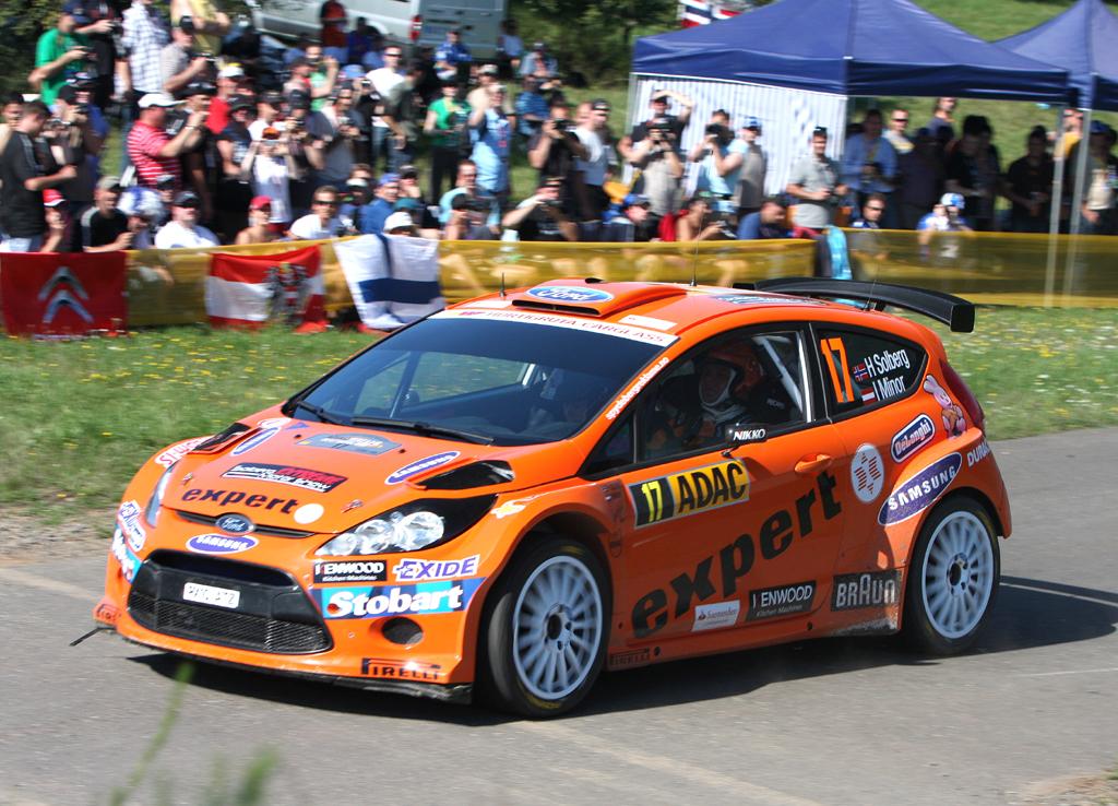 Auf dem Fiesta S2000 baut Fords neuer Rallye-Renner auf.