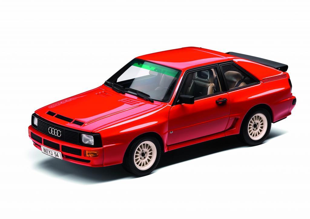 Auszeichnung für Audi-Miniaturmodelle