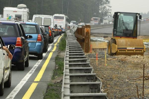 Autobahnen - Weniger Baustellen