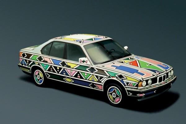 BMW 5er wird zum Kunstgegenstand