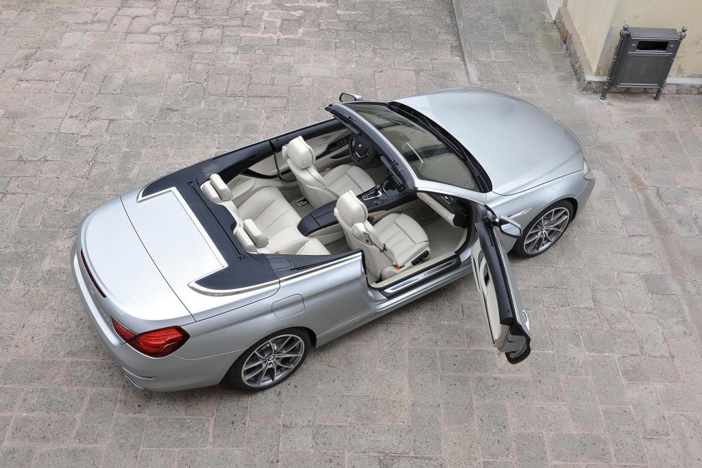 BMW 6er Cabriolet: Coole Nummer