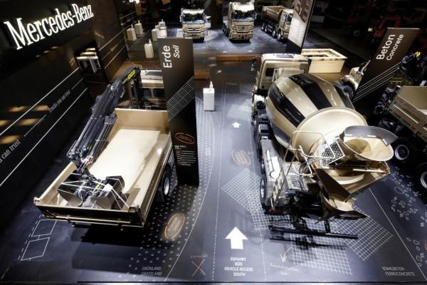 Bauma-Messesstand von Mercedes-Benz ausgezeichnet