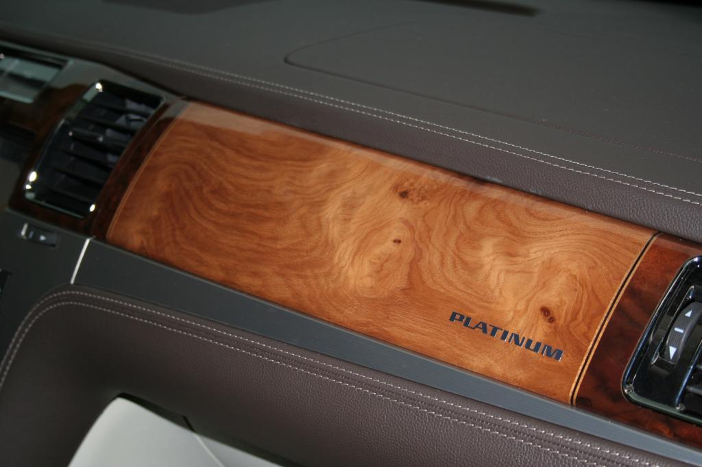 Cadillac Escalade Platinum Edition.