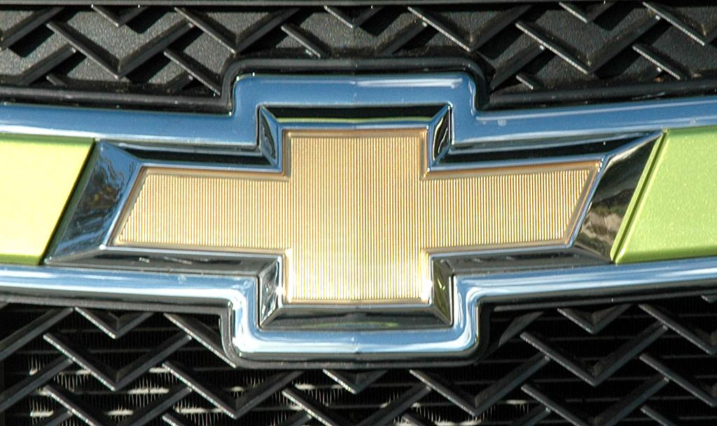 Chevrolet Spark: Das Markenlogo sitzt im oberen Teil des Kühlergrills.