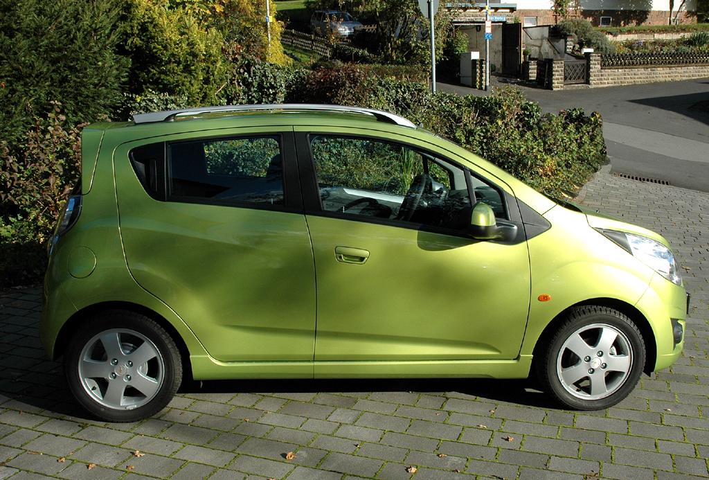 Chevrolet Spark: Seitenansicht.