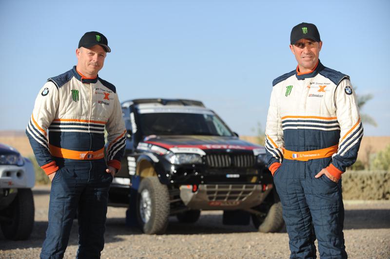 Dakar 2011: BMW X-raid startet mit sieben Fahrzeugen und neuem Sponsor
