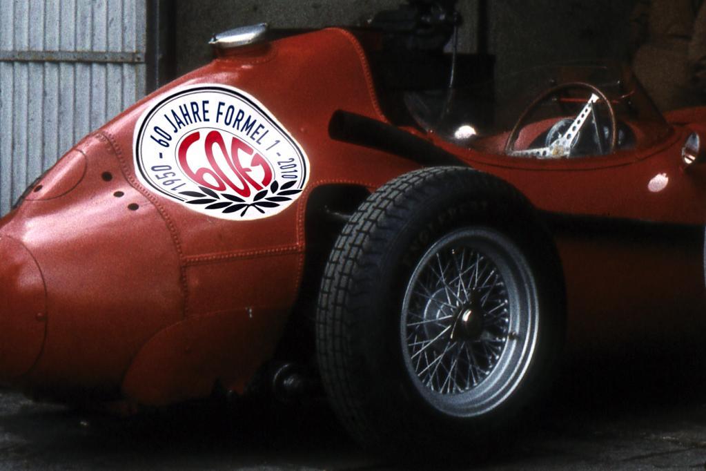 """Das Automuseum Prototyp zeigt in einer Sonderausstellung """"60 Jahre Formel 1""""."""