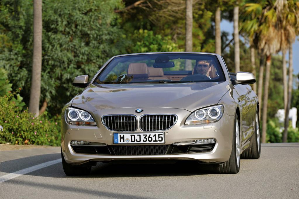 Das neue BMW 6er Cabriolet kommt Anfang März auf den Markt.