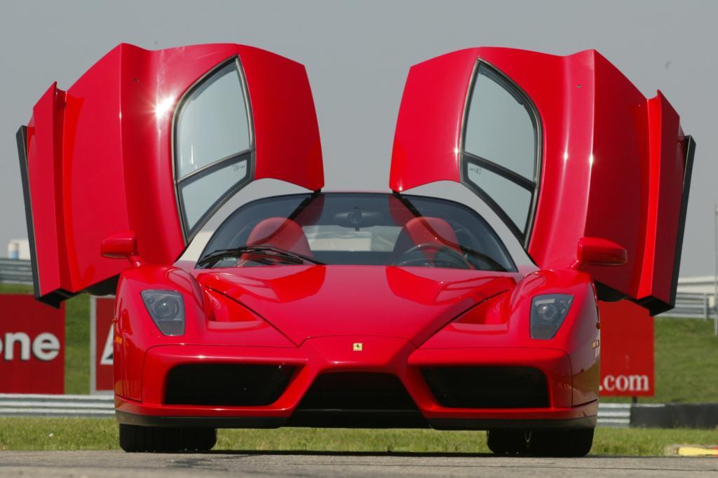 Der Enzo ist Ferraris bislang letzter Supersportwagen