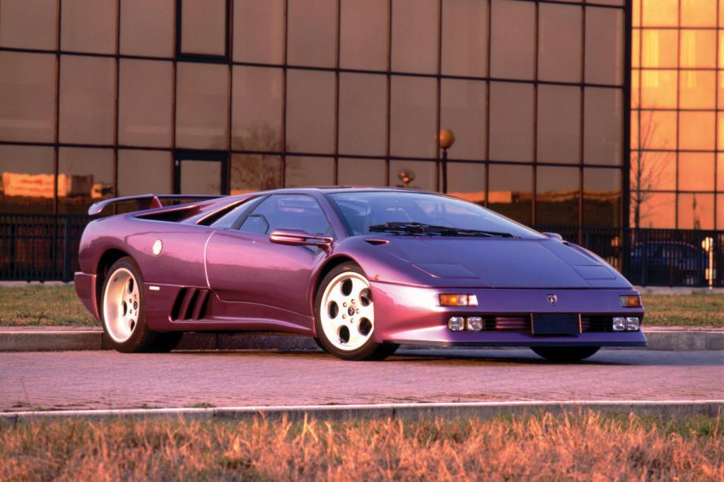 Der Lamborghini Diablo war der Nachfolger des Countach