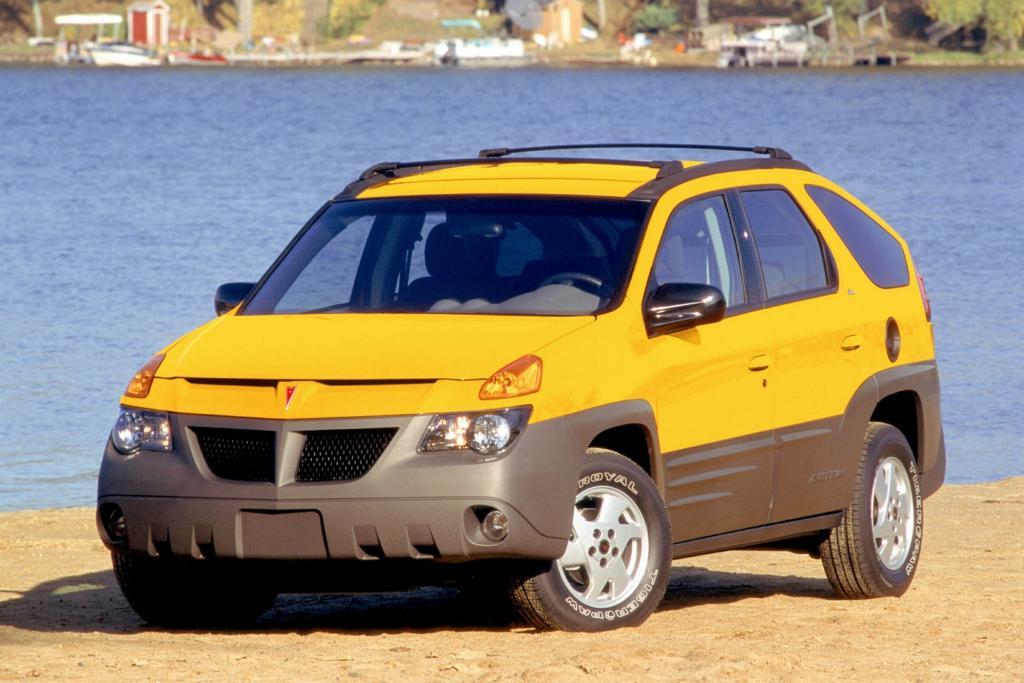 Der Pontiac Aztek gilt vielen als das hässlichste Auto aller Zeiten