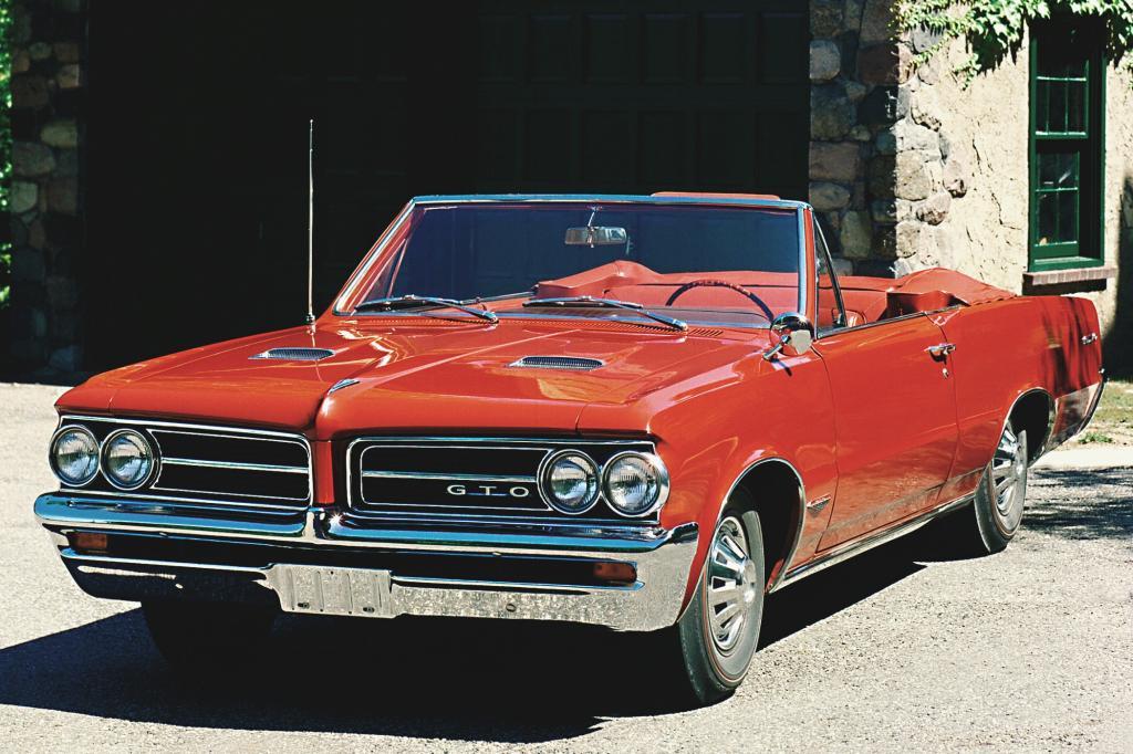 Der Pontiac GTO war eins der schnellsten US-Autos seiner Zeit