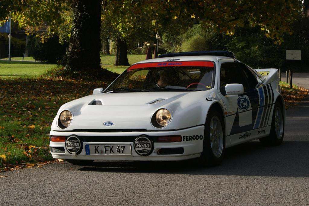 Der RS 200 ist ein reines Rallyeauto