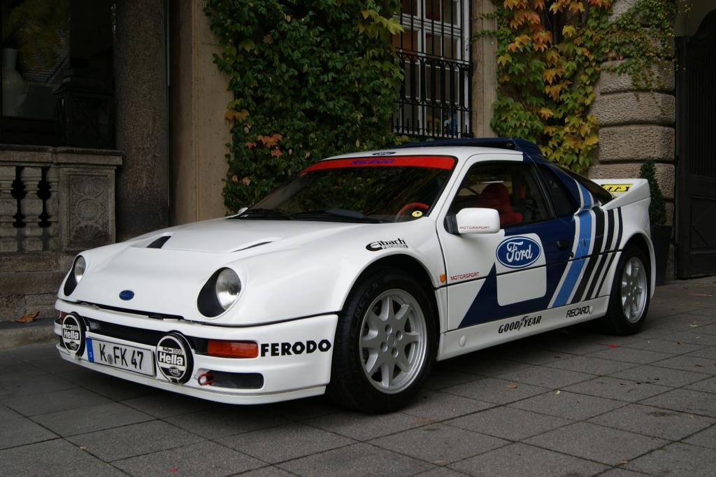 Der RS 200 war als Rallyefahrzeug für die Gruppe B gedacht, 1985