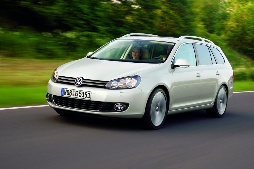 Der VW Golf Variant bietet ähnliche Vorzüge wie bereits die Limousine