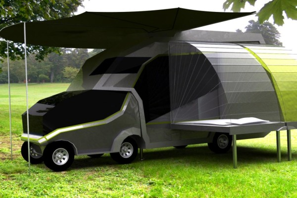 Die Quadratur des Campings: Kreuzung aus Caravan und Reisemobil