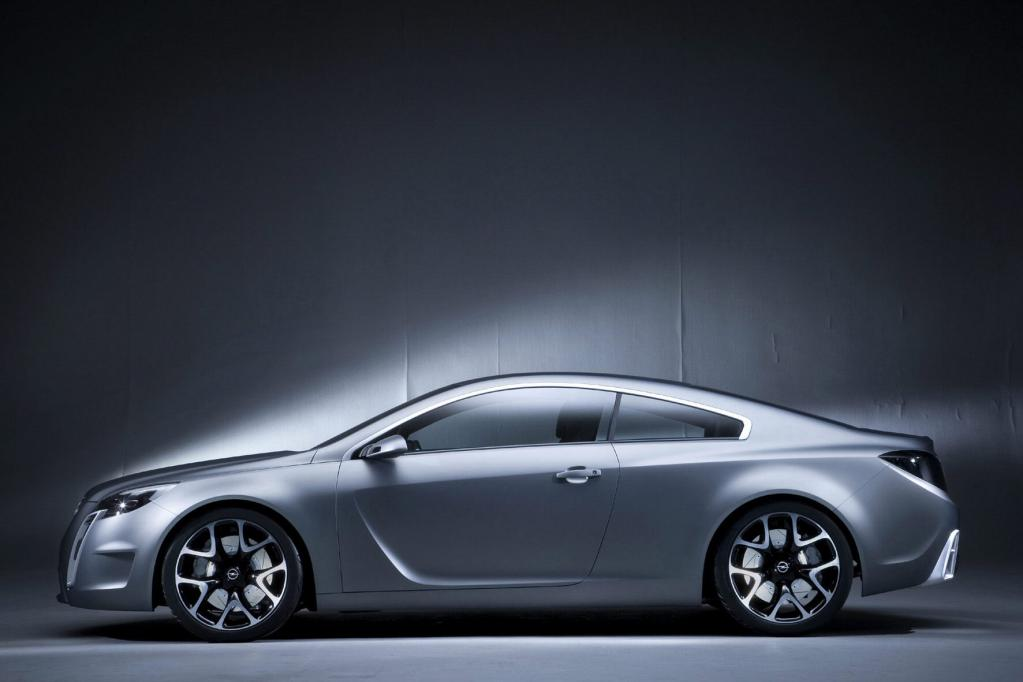 Die in Genf präsentierte Studie Opel GTC Concept ist Vorbild für den neuen Calibra.