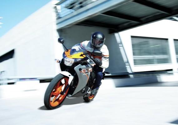 EICMA 2010: Honda präsentiert zwei kleine CBR-Modelle